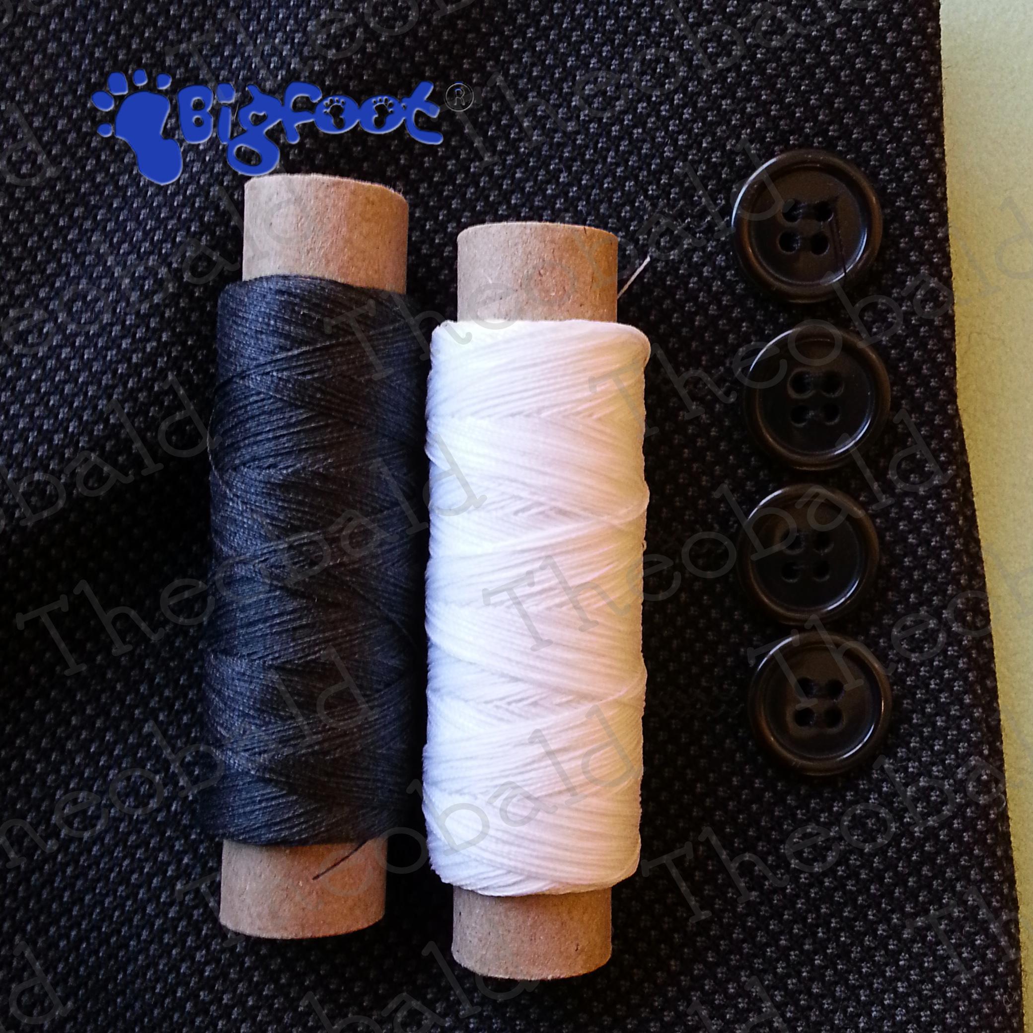 TRIXES 24 Cotton Sewing Thread Assorted Colours Fine Premium Quality Cotton Reels