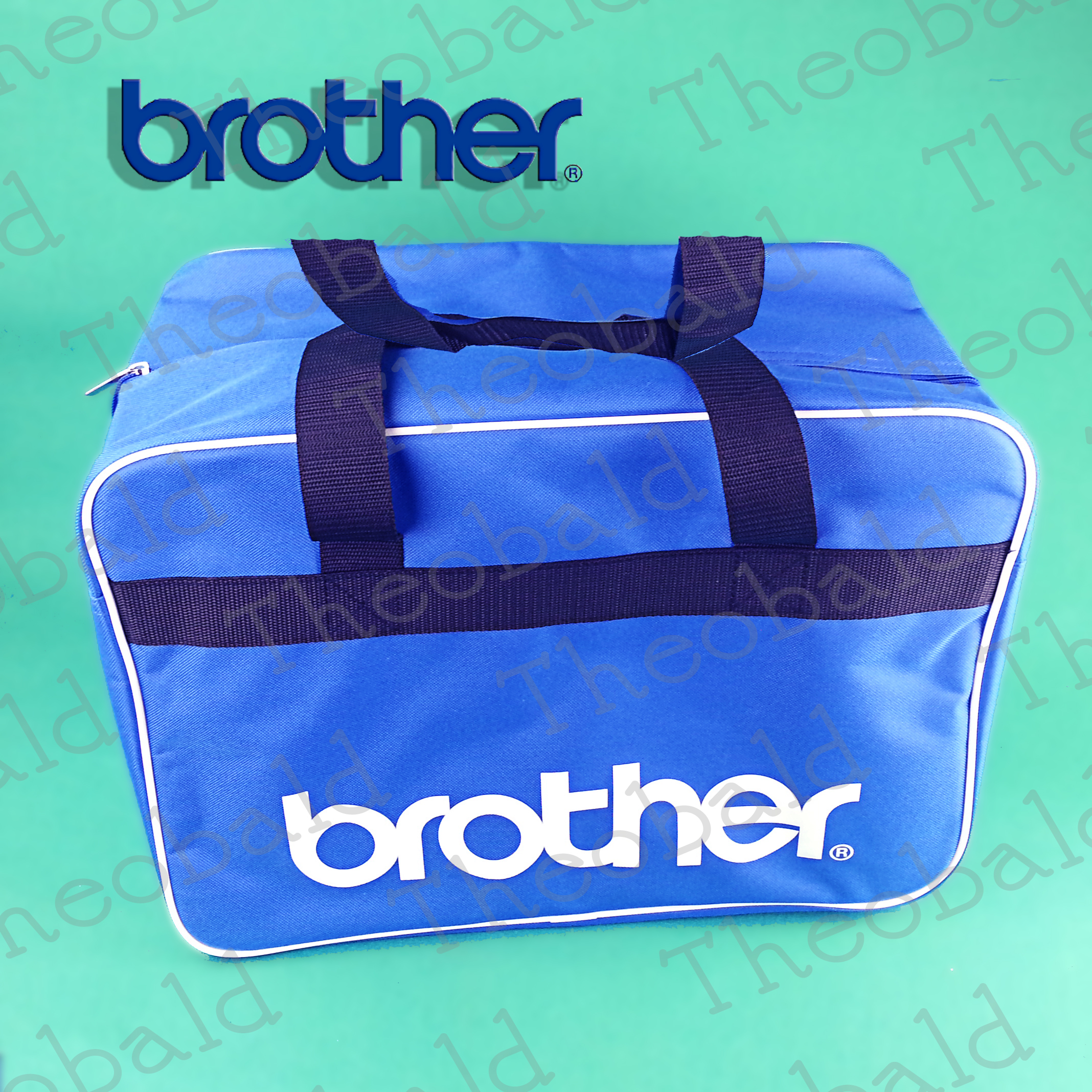 Genuine brother sewing machine carry case bag practical
