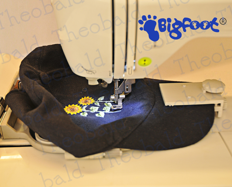 embroidery cap machine