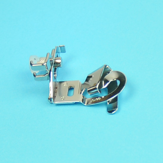 """SEWING MACHINE 1//4/"""" HEMMER FOOT FITS BROTHER JANOME,ELNA,SINGER,TOYOTA,SILVER"""